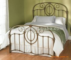 Top-selling hand forged iron bedroom furniture $400~$500