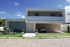 Casa fachada minimalista II Decorsalteado!