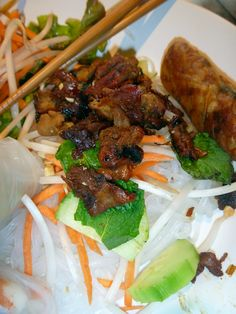 This grilled pork is so amazing, with its lemongrass flavor it adds the right touch to your Vietnamese meal. I use it inside of...