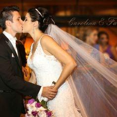 Casamento realizado na Igreja Cruz Torta em São Paulo - Carolina e Fabio