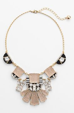 Wearing this sparkly statement piece with a LBD.