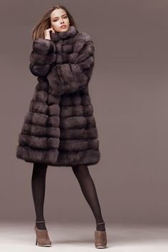I wonder how many sables had to die for this fur coat? FUR IS NOT FASHION!!! #antifur