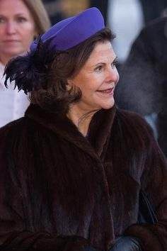 Queen Silvia of Sweden attends the 25th anniversary of King Harald V and Queen Sonja of Norway as monarchs on January 17, 2016 in Oslo, Norway.
