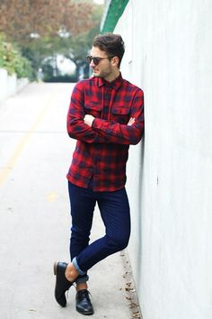 Plaid Red Shirt