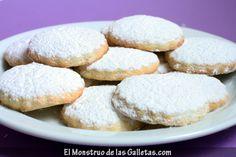 Una receta de galletas de mantequilla - El Monstruo de las Galletas.