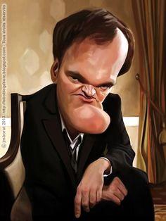 [ Quentin Tarantino ] - artist: Jean-Marc Borot