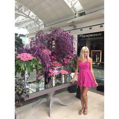 🎀 #barbie #barbiestyle #barbiedoll #makeup #pink #moda #fashion #fashionblogger #martasoltysyak #baby #babydoll #festival #makeuplover #istinye #istinyepark #flowers