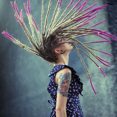 colored dreads | Tumblr