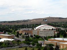 I went to Idaho State University in Pocatello, Idaho.  Pocatello doesn't have a lot to offer, but we were creative college students and found ways to have fun regardless.