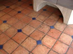 View fresh Superb Mexican Tile Floors Mexican Saltillo Tile Pavers design recommendations in a number of pictures from Marilyn Price, home design exp. Floor Design, Tile Design, Patio Tiles, Deck Tile, Concrete Patio, Terracotta Floor, Southwestern Decorating, Spanish Tile, Kitchen Flooring