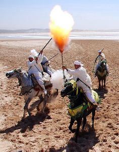 Berber Horsemen in Morocco Marrakech, North Africa, Continents, Oeuvre D'art, Egypt, Scenery, Places To Visit, Photos, Around The Worlds