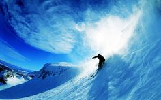 Skying Over Snow Wide #Over #Skying #Snow #Wide