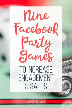 If you love throwing parties on Facebook, check out these nine fun games to play that will help increase engagement and sales!