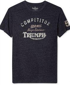 Lucky Brand Jeans Shirt, Triumph Enduro T-Shirt - Guys - Men - Macy's