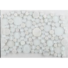 "Found it at Wayfair - Lucente 12"" x 12"" Glass Stone Blend Circle Mosaic Tile in Ambrato"