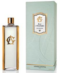 From Annick Goutal, an 860 ml art-deco-inspired bottle of Eau d'Hadrien, packaged with funnel and 25 ml travel spray. 200 were made; €550 at Annick Goutal.