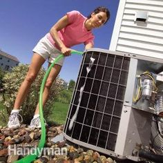 Essential Money Saving DIY !::Clean Your Air Conditioner Condenser Unit - Step by Step Tutorial