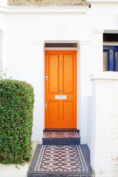 """Bright Doors Pinterest 2018 Color Trend Photos 