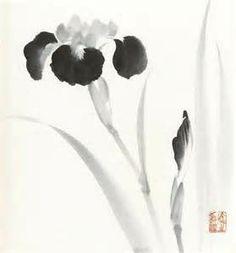 Sumi-e - painting and calligraphy Sumi E Painting, Korean Painting, Japan Painting, Chinese Painting, Abstract Watercolor, Watercolor Paintings, Pintura Zen, Chinese Drawings, China Art