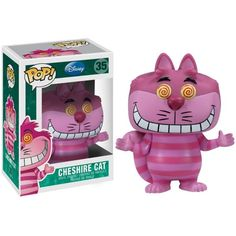 Funko POP Disney Series 3 Cheshire Cat Vinyl Figure ($50) ❤ liked on Polyvore featuring toys