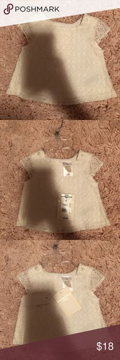 Kardashian Collection Lace Top Nwt lace top size 3 months Kardashian Kids Shirts & Tops Blouses