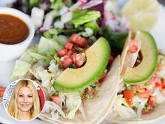Make Gwyneth Paltrow's fish tacos. Currently loving all her recipes.