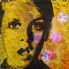 OMG Twiggy Twiggy, Printmaking, Modern Art, Pop Art, Mixed Media, Painting, Image, Art Ideas, Art Pop