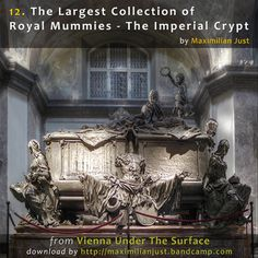 In the double tomb: Maria Theresa and Emperor Francis Stephen of Lorraine, Imperial crypt, Vienna Austria, Vienna Map, Versailles, Famous Historical Figures, Pet Cemetery, Maria Theresa, Catacombs, Effigy, Memento Mori