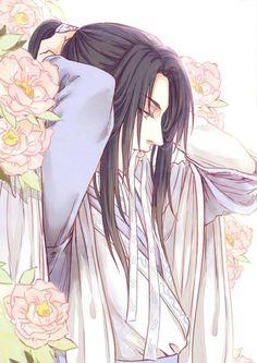 Risultati immagini per anime boy cổ trang