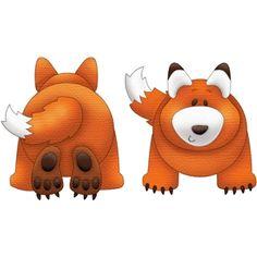 Silhouette Design Store: forest fox
