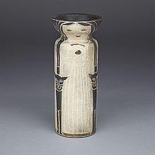 Figural harlander vase