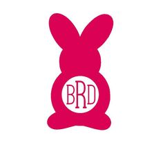 personalized monogram easter bunny custom iron on letters iron on vinyl monogram iron