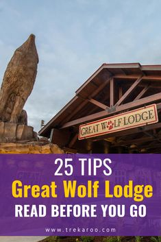 Great Wolf Lodge is a great water park resort destination for families. There are Great Wolf Lodge locations all over the US. Visiting for the first time can overwhelming which is why we created this guide with 25 Great Wolf Lodge tips. Read before you visit so your family doesn't get overwhelmed by all the fun! #GreatWolfLodge #Waterparks #Vacation #FamilyVacation   Pin photo via Great Wolf Lodge Spring Break Destinations, Family Vacation Destinations, Travel Destinations, Hotels For Kids, Great Wolf Lodge, Park Resorts, Road Trip With Kids, Great Lakes, Places Around The World