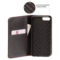 new concept 0c342 93828 TORRO Premium Leather Case compatible with iPhone 8 Plus. Premium ...