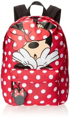 Minnie Mouse Red Polka Dot Disney Backpack by Loungefly