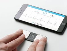 The Kardia Portable EKG Puts Heart Health Data at Your Fingertips. Kardia portable EKG links with your smartphone to provide potentially life-saving heart health data. It provides the easiest way to detect possible atrial fibrillation early and reduce your risk of stroke. Place your fingers on the sensors & in 30 seconds, you have a medical grade EKG. Data is stored to be accurately shared with your doctor.