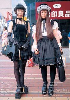 Old School Gothic Lolita & E.G.L