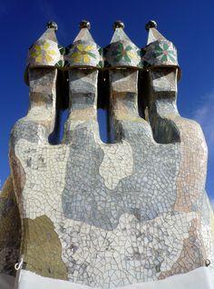 Casa Batlló. Barcelona Spain. Antoni Gaudi.1904-06