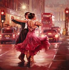 Dancing paintings photography