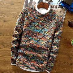 "481 Me gusta, 5 comentarios - Men's Fashion | Men's Realm (@mensrealm) en Instagram: ""Contemporary Sweater Link in Bio @mensrealm Collections ➡️ Sweaters Price: $45 #mensrealm"""