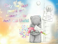 💖 Aunt and Uncle 💙 Tatty Teddy, Teddy Bear, Fizzy Moon, Blue Nose Friends, Christmas Wishes, Get Well, Good People, New Baby Products, Congratulations