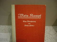 Adolf's HItler's Mein Kampf has been reprinted in Germany after its copyright has expired.