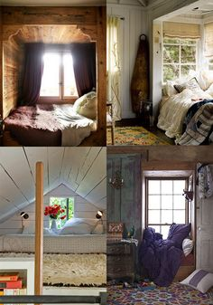 Using every square inch...  Nook, Nook, Who's There?  2ModernBlog