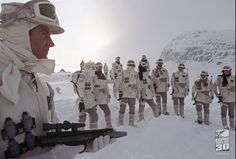 Rebel soldiers on Hoth