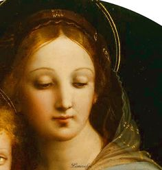 """""""How beautiful she is, Our Lady of compassion! How dear! How utterly unselfish! How filled with joy for Him And for us! Madonna Art, Bay Area Figurative Movement, Italian Paintings, High Renaissance, Mama Mary, Renaissance Paintings, Italian Artist, Religious Art, Renaissance"""