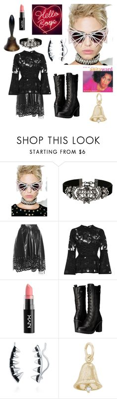 """""""Ring My Bell"""" by christined1960 ❤ liked on Polyvore featuring MATERIAL MEMORIE, Miss Selfridge, Marc Jacobs, Elie Saab, NYX, Harley-Davidson, BERRICLE and Rembrandt Charms"""