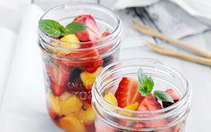 Jordbærsalat med mango