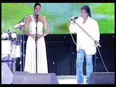 Roberto Carlos e Camila Pitanga Cantam juntos !!