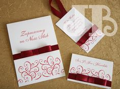 jb: wedding invitation