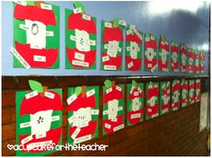 A Cupcake for the Teacher: Apples, Everywhere!